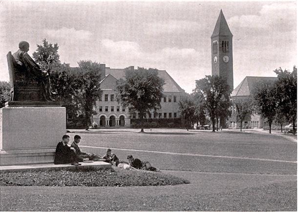 Cornell_Arts_Quad_1919